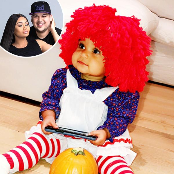 Rob Kardashian, Dream Kardashian, Blac Chyna, Halloween