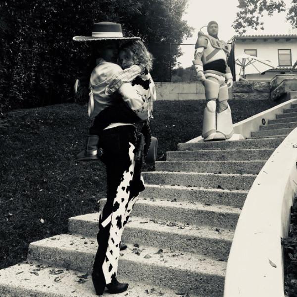 Jessica Biel, Justin Timberlake, Halloween 2017