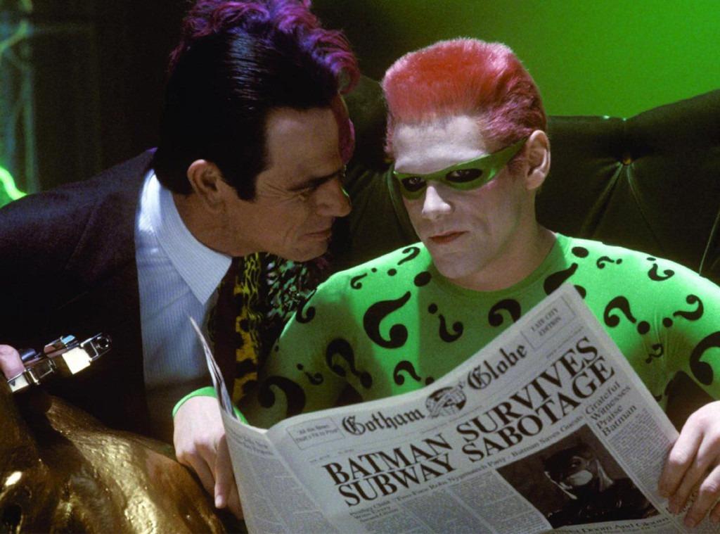 Batman Forever, Jim Carrey, Tommy Lee Jones