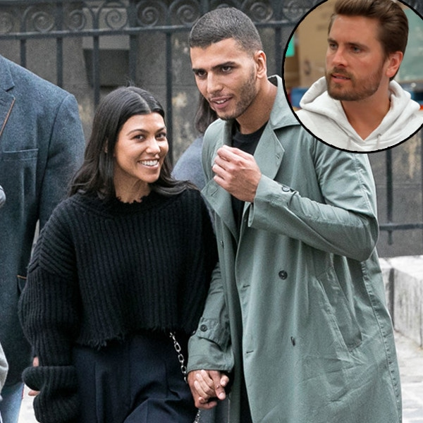 Kourtney Kardashian, Younes Bendjima, Scott Disick