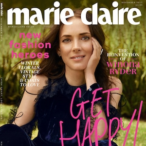 Winona Ryder, Marie Claire UK