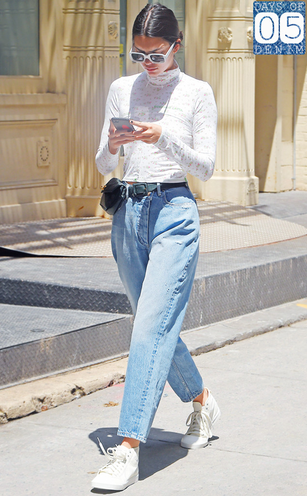 Jenner Jeans Guide: How To Wear Shorts and Other Parts