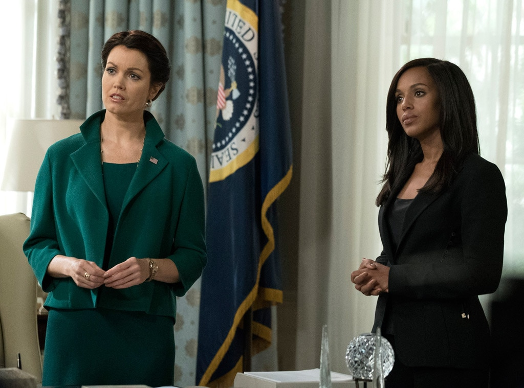 What time does the Scandal series finale start?