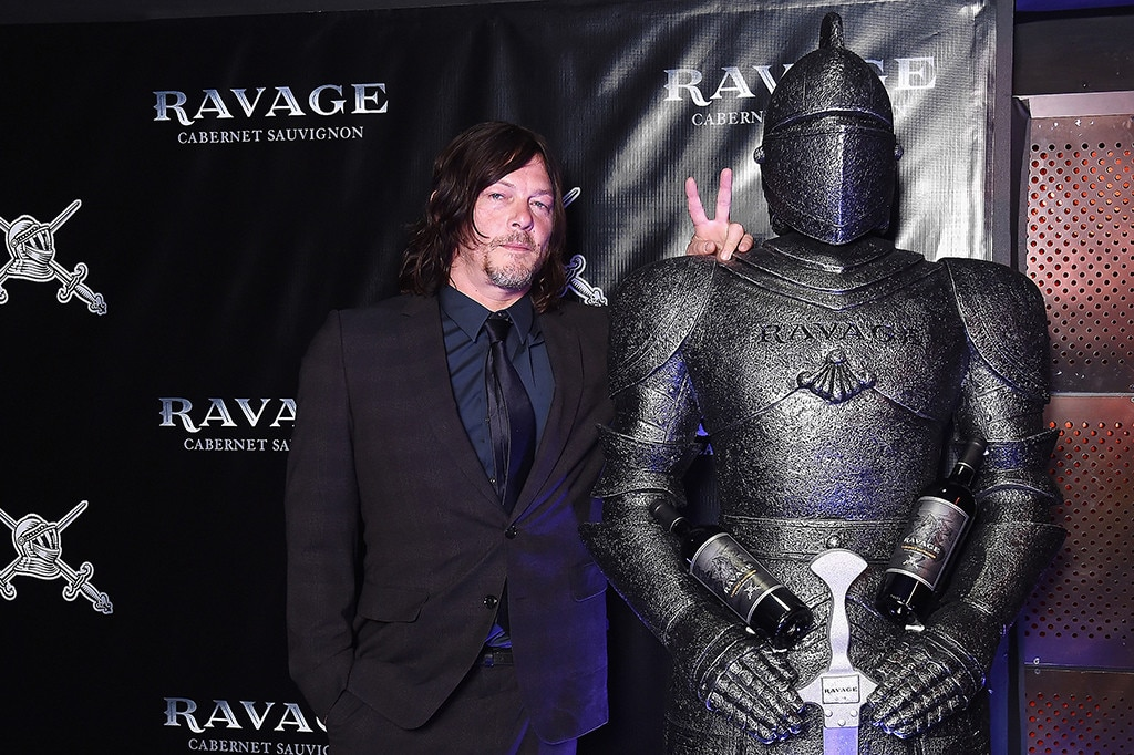 Norman Reedus, New York Comic Con Party