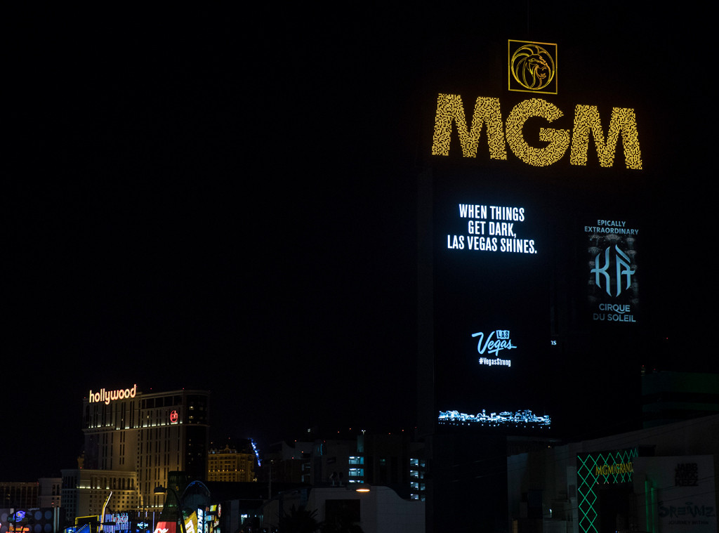 Las Vegas Strip Goes Dark Tribute