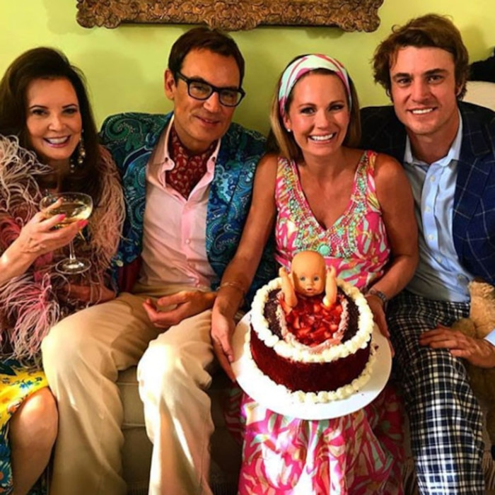 Southern Charm Stars Throw Cameran Eubanks A 60s Inspired Baby