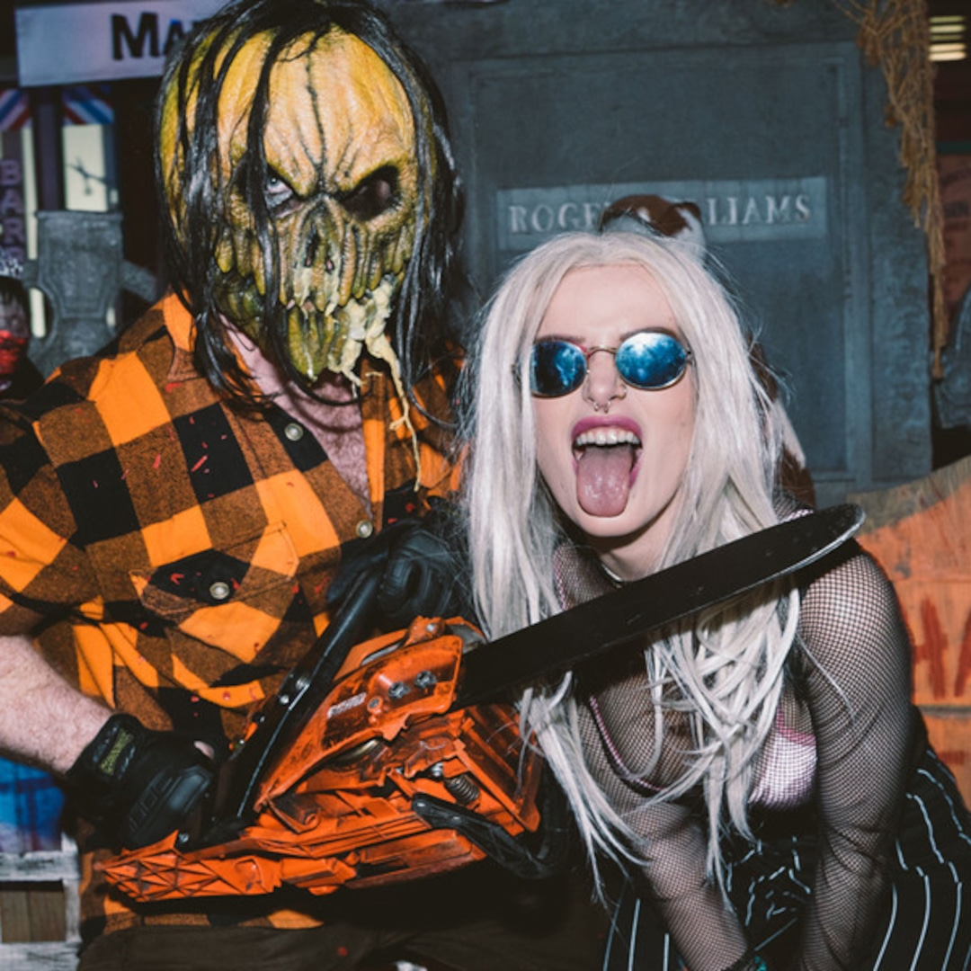 Ariana Grande and More Stars Who Got Their Scare On at Universal Studio's Halloween Horror Nights