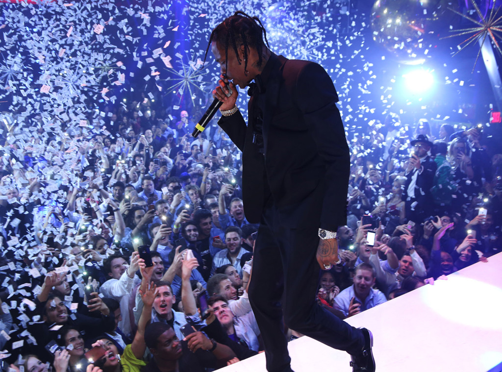Travis Scott, New Year's Eve