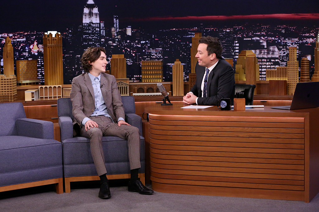 Timothée Chalamet, The Tonight Show Starring Jimmy Fallon