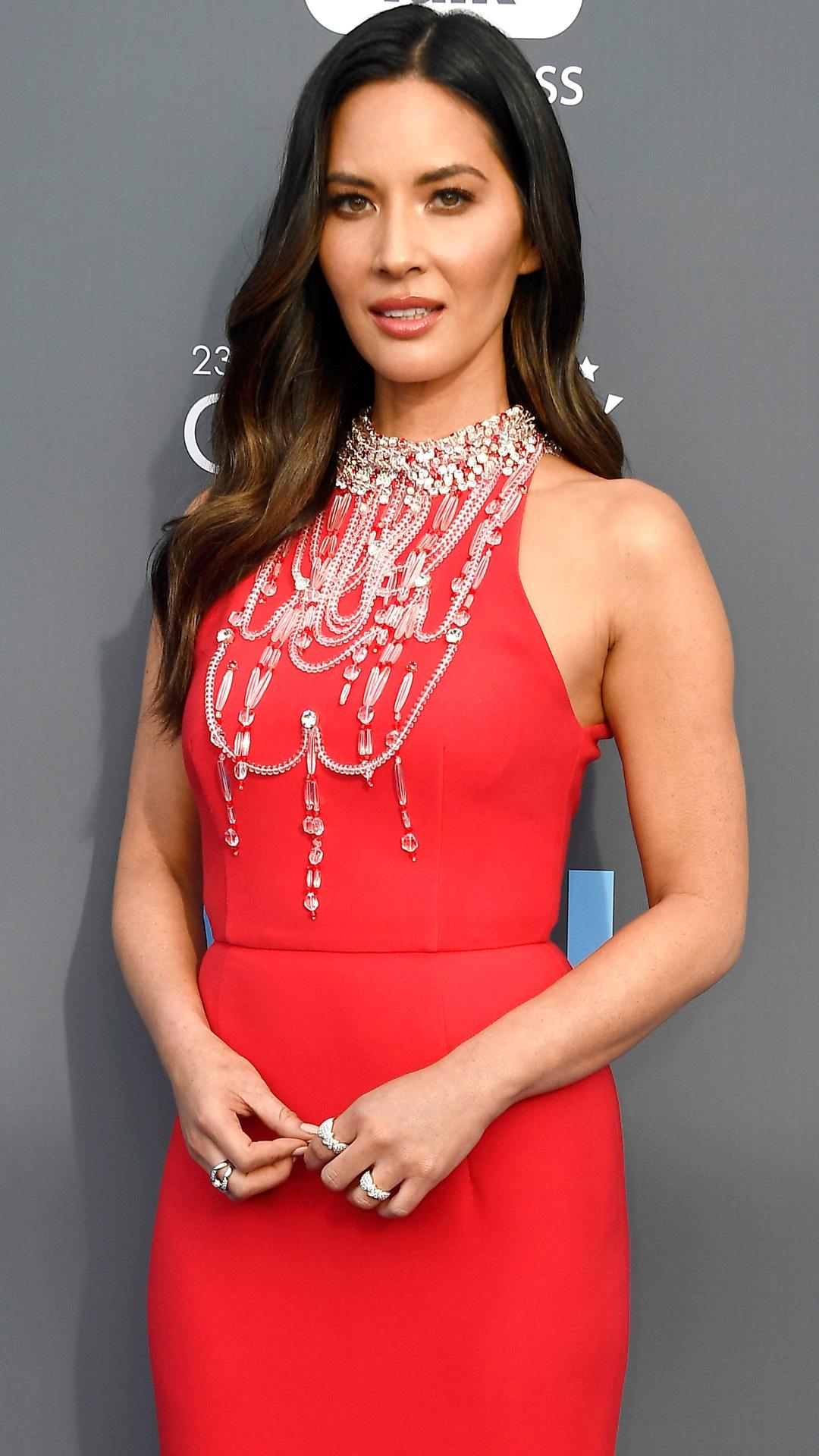 Olivia Munn, 2018 Critics Choice Awards