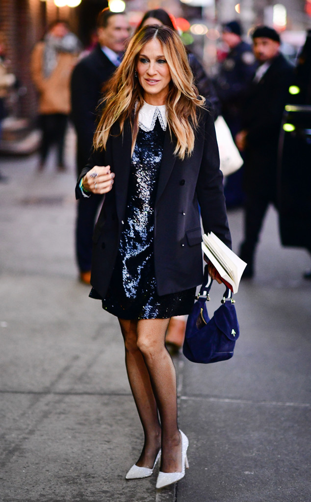 192 Best Images About Tarot: Sarah Jessica Parker Lights Up NYC & More Best Dressed