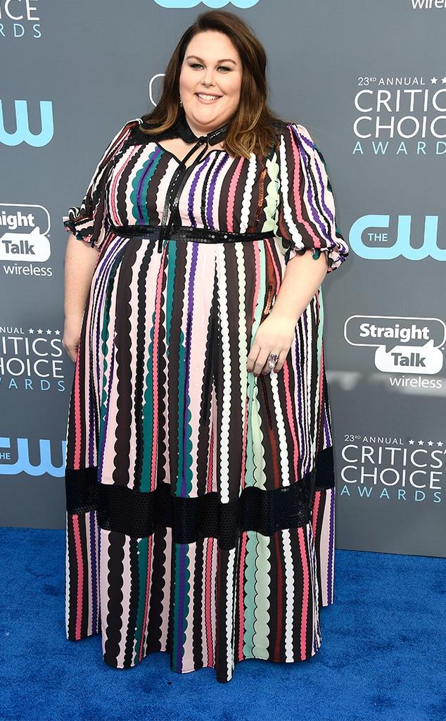 Chrissy Metz, 2018 Critics' Choice Awards