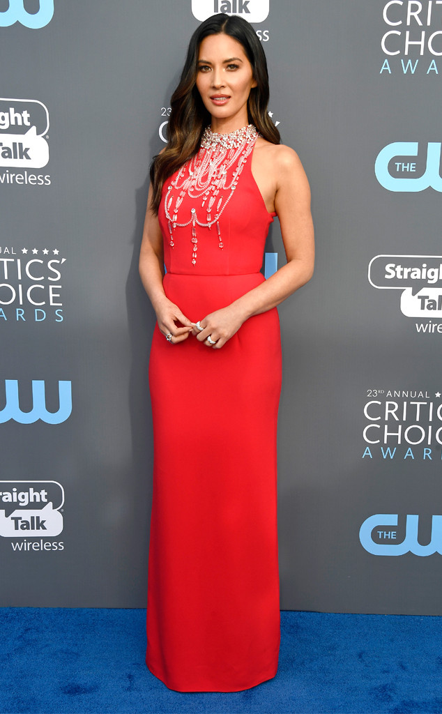 Olivia Munn, 2018 Critics Choice Awards