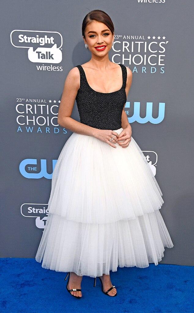 Sarah Hyland, 2018 Critics' Choice Awards