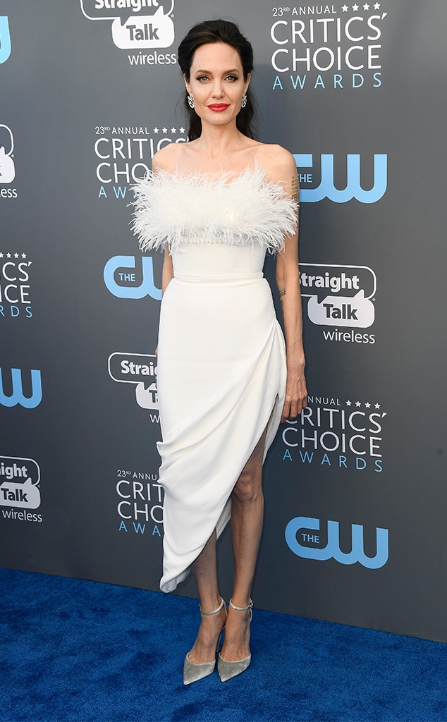 Angelina Jolie, 2018 Critics Choice Awards