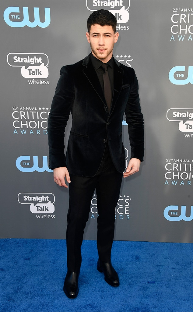 Nick Jonas, 2018 Critics' Choice Awards