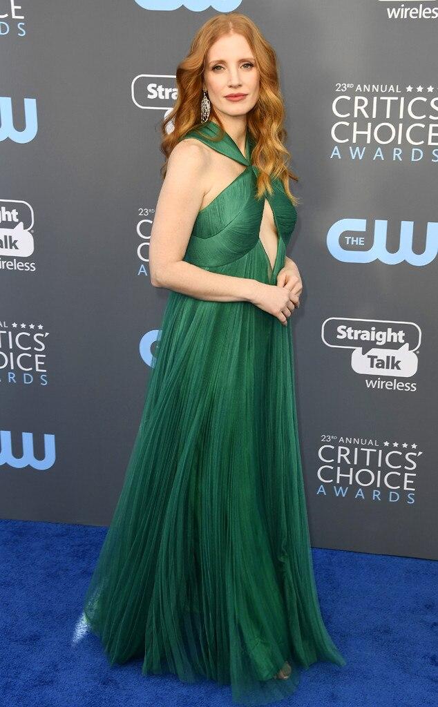 Jessica Chastain, 2018 Critics' Choice Awards