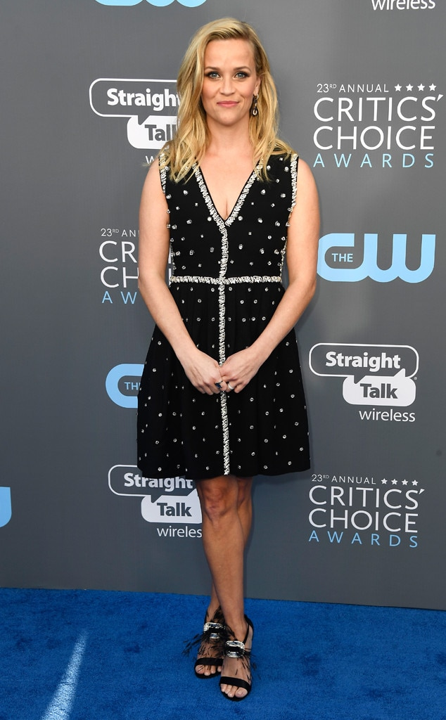 Reese Witherspoon, 2018 Critics' Choice Awards