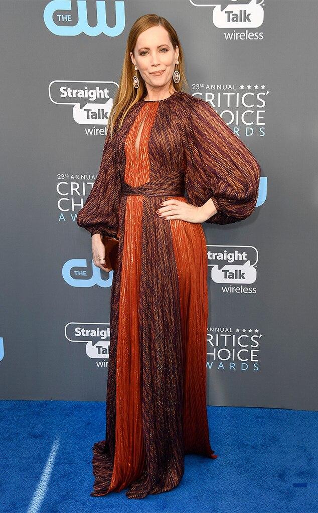 Leslie Mann, 2018 Critics' Choice Awards