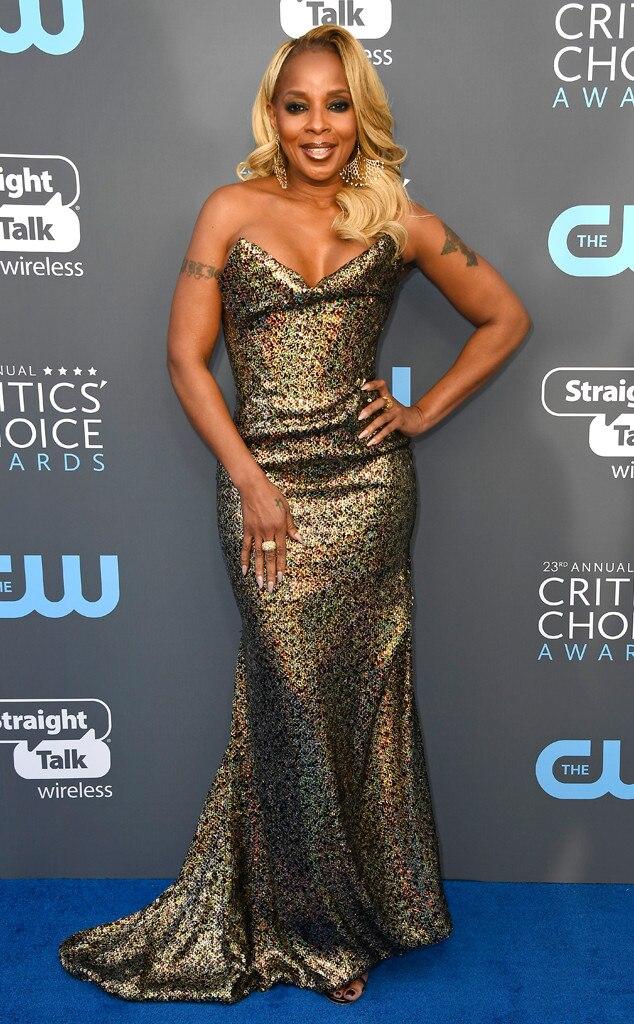 Mary J. Blige, 2018 Critics Choice Awards