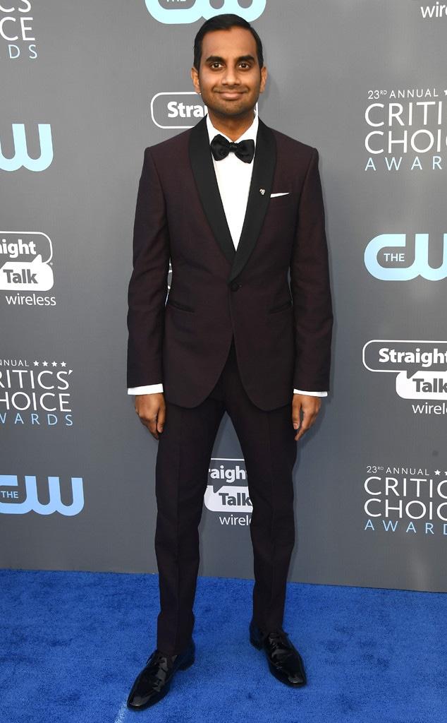 Aziz Ansari, 2018 Critics Choice Awards