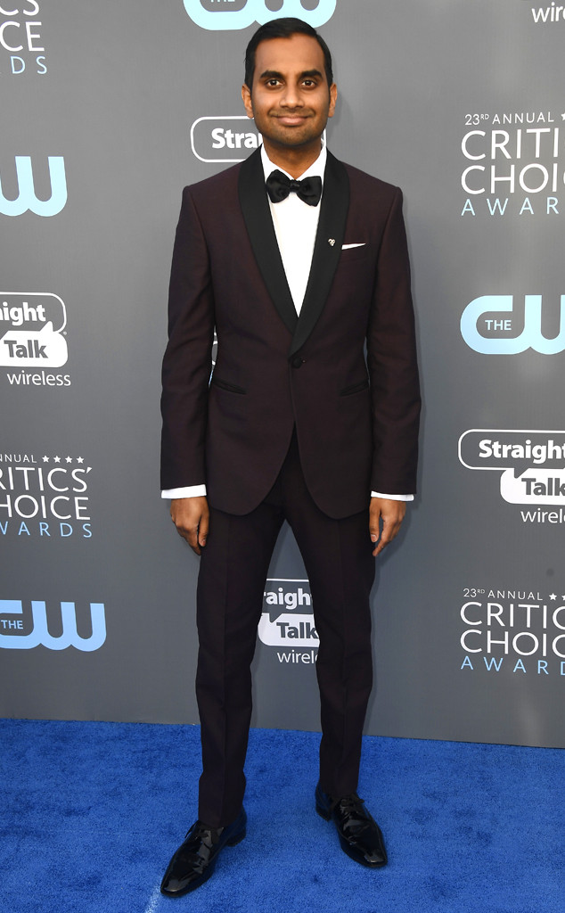 Aziz Ansari, 2018 Critics Choice Awards