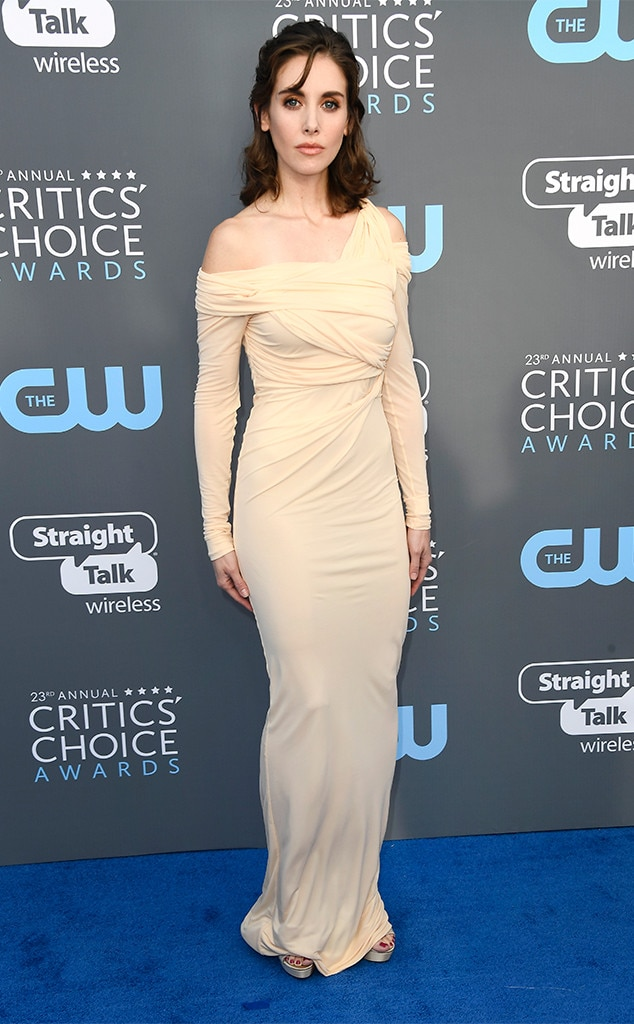 Alison Brie, 2018 Critics Choice Awards