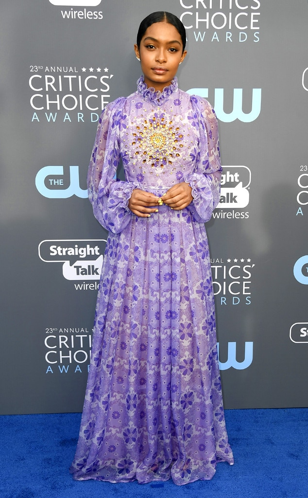 Yara Shahidi, 2018 Critics' Choice Awards