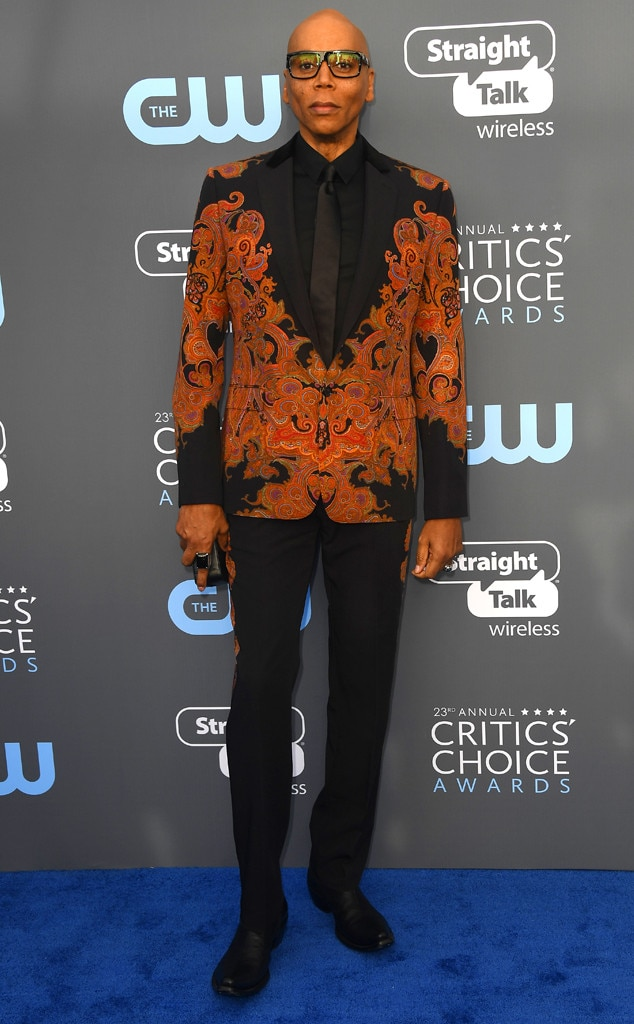 Rupaul, 2018 Critics' Choice Awards