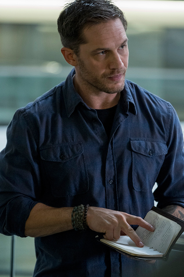 Venom Movie Teases First Look at Tom Hardy as Eddie Brock ...