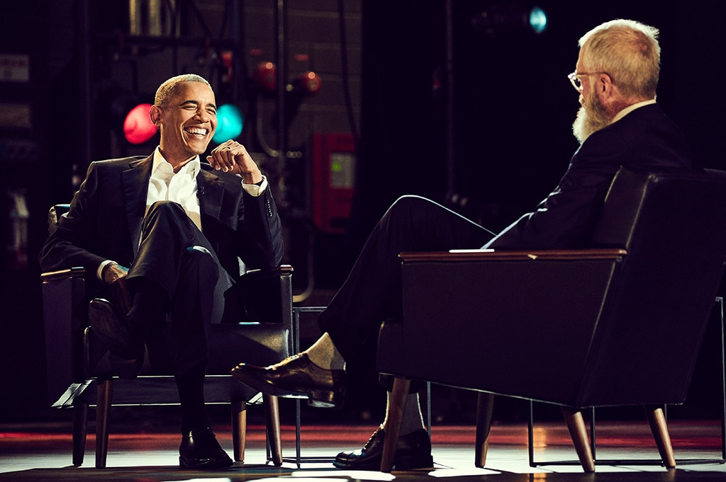 Barack Obama, My Next Guest Needs No Introduction With David Letterman