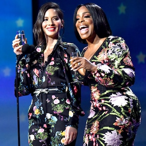 Niecy Nash, Olivia Munn, 2018 Critics' Choice Awards