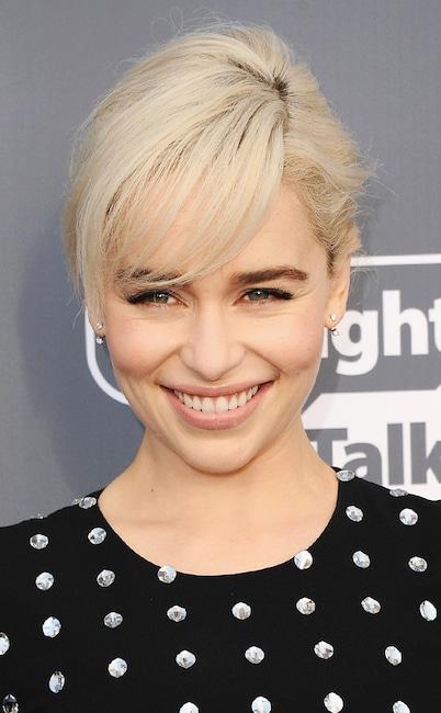 ESC: Critics Choice Beauty Tips, Emilia Clarke