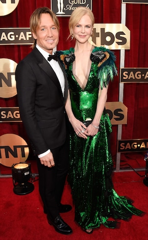 Keith Urban, Nicole Kidman, 2017 SAG Awards, Couples