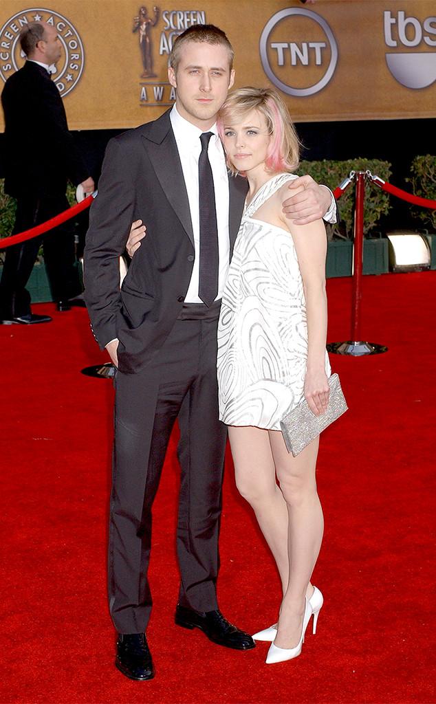Rachel McAdams, Ryan Gosling, 2007 SAG Awards