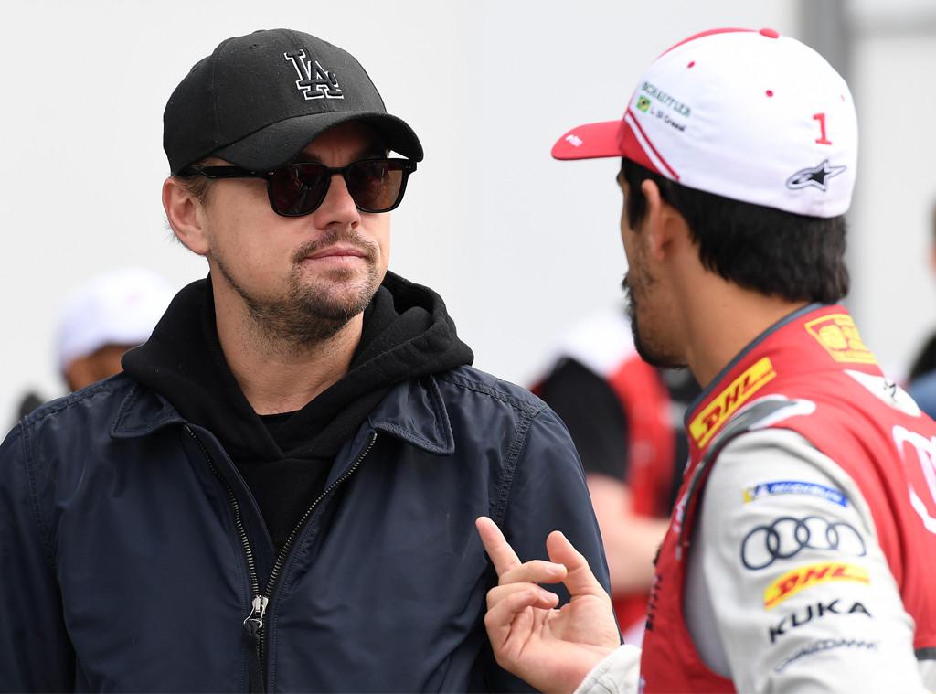 Leonardo DiCaprio, Marrakesh E-Prix, Formula E