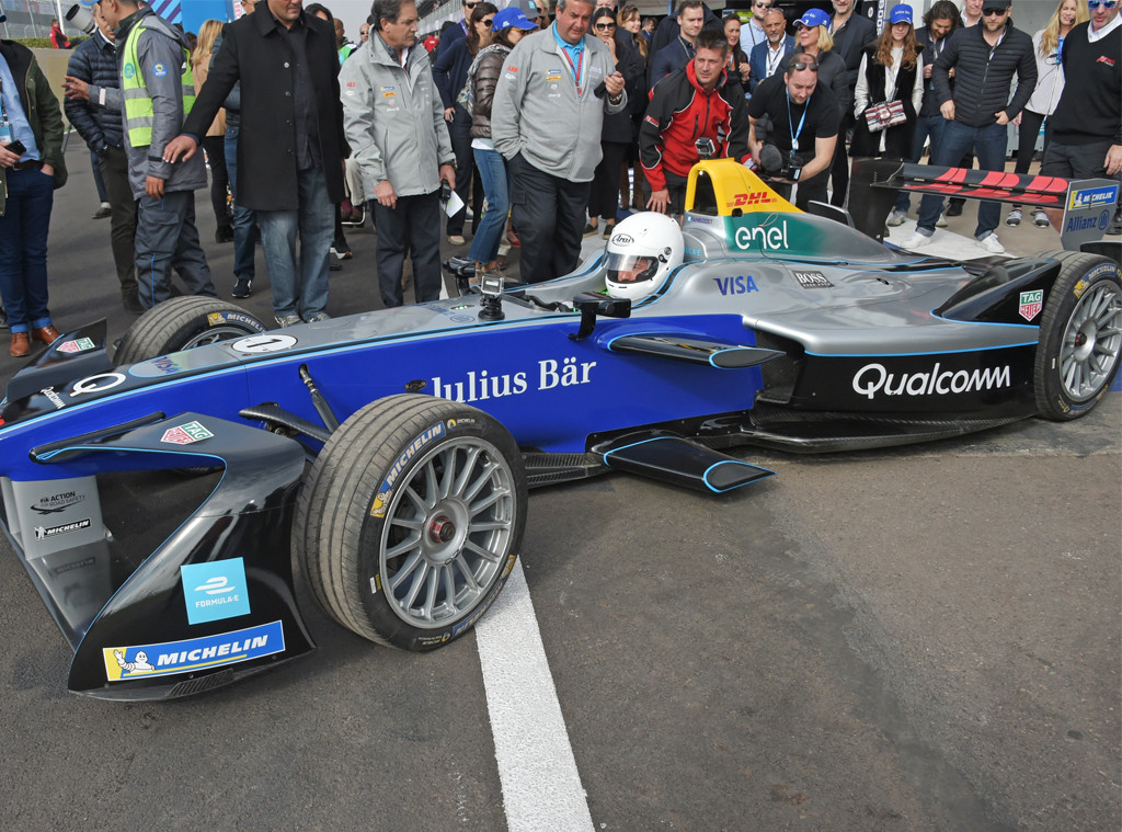 Orlando Bloom, Marrakesh E-Prix, Formula E