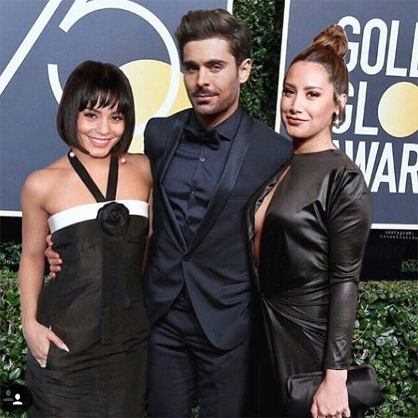 Zac Efron, Vanessa Hudgens and Ashley Tisdale Have a Fake High