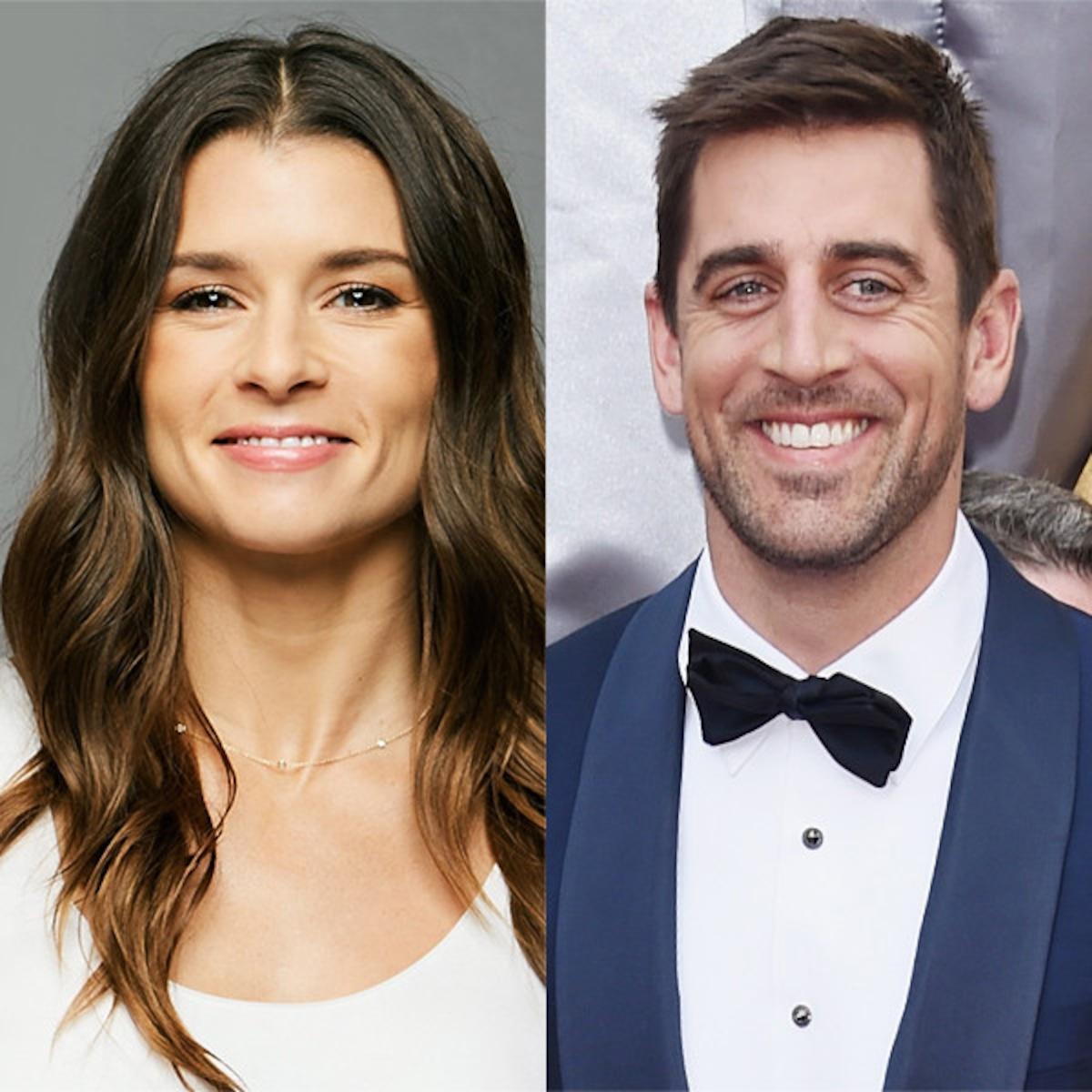 Danica Patrick Confirms She S Dating Quarterback Aaron Rodgers E Online Ap