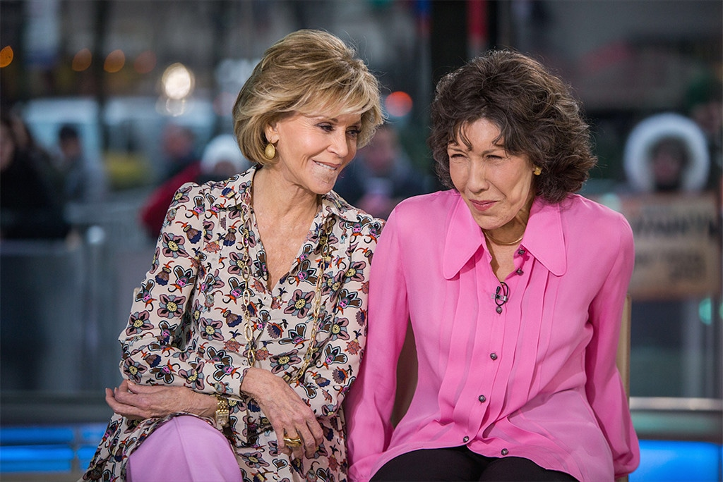 Jane Fonda, Lily Tomlin, The Tonight Show Starring Jimmy Fallon