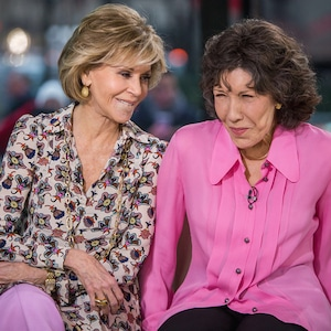 Jane Fonda, Lily Tomlin, The Tonight Show Starring Jimmy Fallon