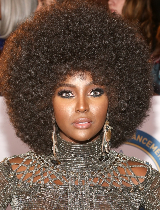 Amara Le Negra From Best Beauty At The 2018 Naacp Image Awards E News
