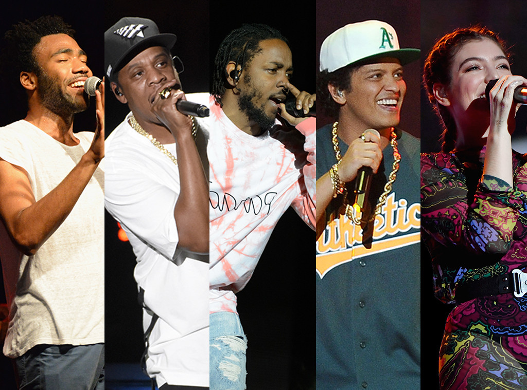 Grammys 2018 Splits, Album of the Year, Grammy Predictions 2018: Childish Gambino, Jay Z, Kendrick Lamar, Bruno Mars, Lorde