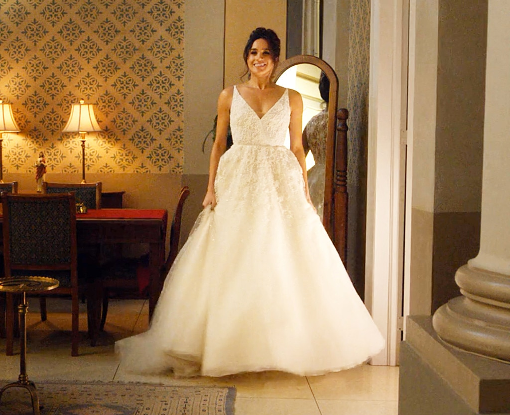 Meghan Markle, Suits, Wedding Dress