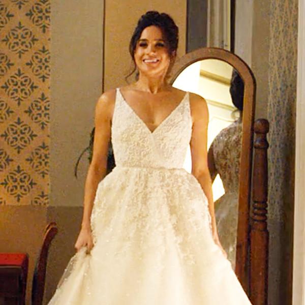 Meghan Markle, Suits, Wedding Dress