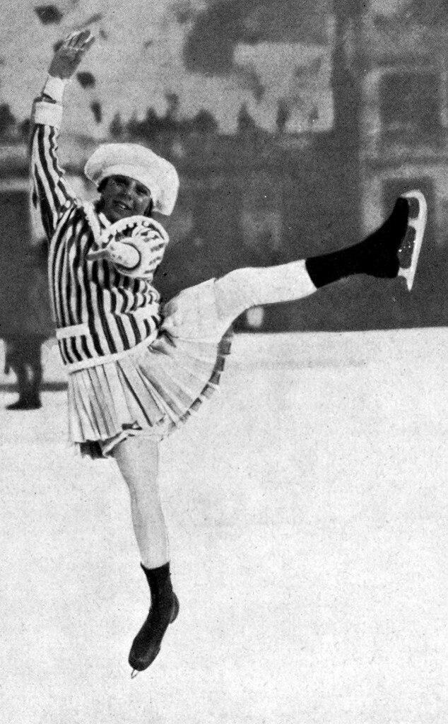 Ornaments SONJA HENIE Olympic Champion Movie Star Singer ICE SKATER  Christmas