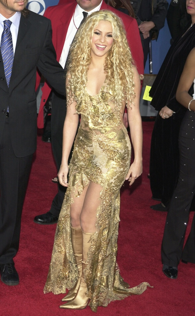 Shakira from 2018 Nominees\' First Grammy Awards | E! News