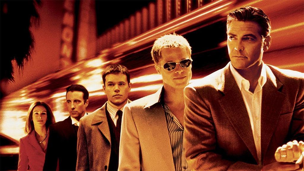 George Clooney, Brad Pitt, Ocean's Eleven