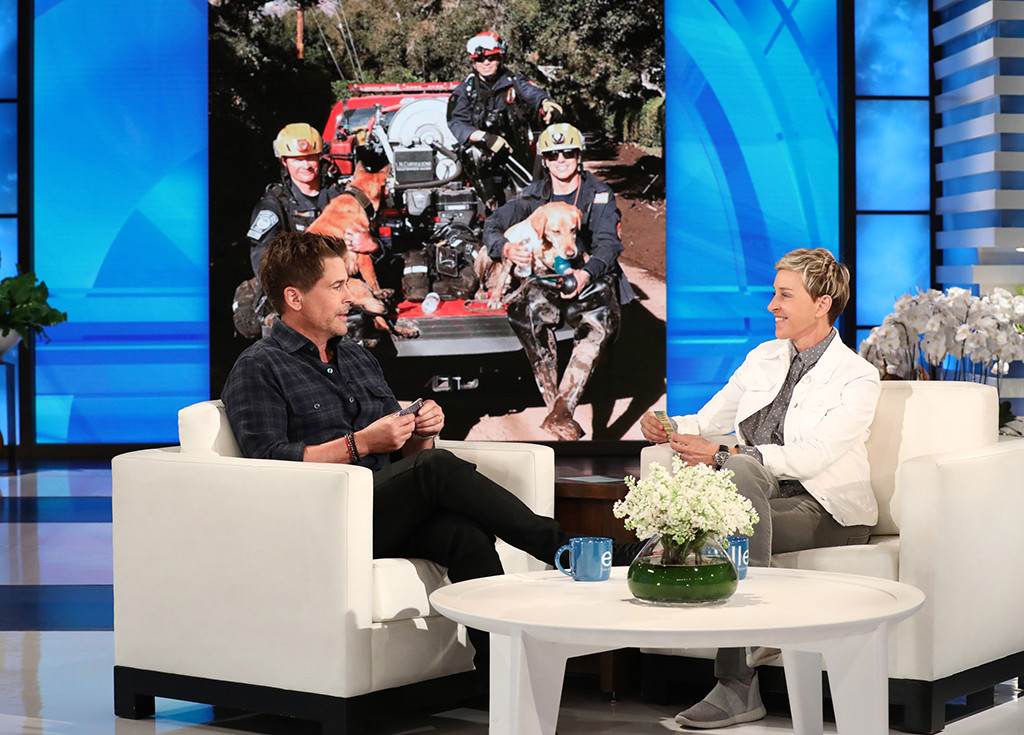 Rob Lowe, The Ellen DeGeneres Show