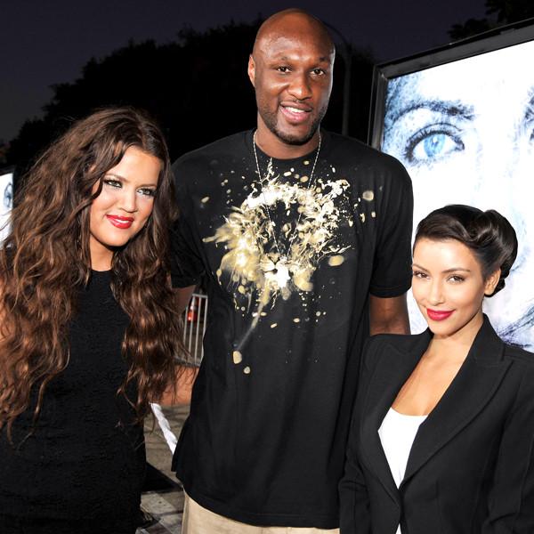 Khloe Kardashian, Lamar Odom, Kim Kardashian